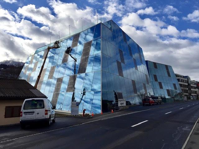 chemiefreie glasfassadenreinigung