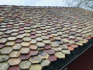moos auf dach reinigen